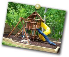 Build Your Custom Swing Set, Start with Our Swing Set Designer