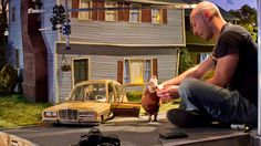 Visualize This: The Concept Art Behind ParaNorman's 3-D Printed World - Neil's House Set
