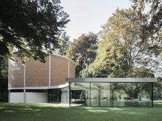 best architects architektur award // Niklaus Graber & Christoph Steiger Architekten / Niklaus Graber & Christoph Steiger Architekten / Thun Panorama / Öffentliche Bauten