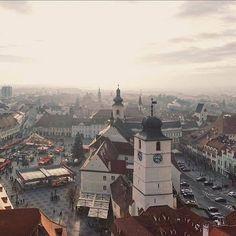 Sibiu - Hermannstadt, România Sibiu Romania, Paris Skyline, Vacation, City, Travel, Shop, Vacations, Viajes, Cities