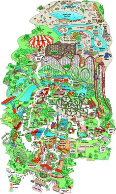 Adventureland Amusement Park Des Moines IA Home FUN - Map usa iowa