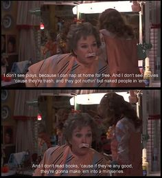 ouiser See Movie, Movie Tv, Movies Showing, Movies And Tv Shows, Steel Magnolias Quotes, Magnolia Movie, Favorite Movie Quotes, Favorite Things, Shirley Maclaine