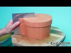 Flower Pot Cake - Orchid Cake TUTORIAL - YouTube