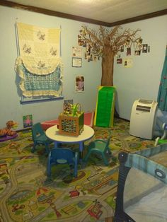This is a toddler Room