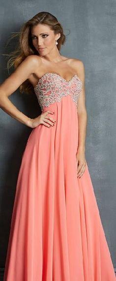 Sexy Sweetheart Pink Natural Sleeveless Chiffon Evening Dresses Sale bestlovedresses12501fghr #longpromdress
