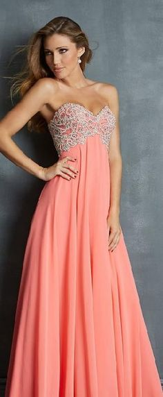 Sexy Sweetheart Pink Natural Sleeveless Chiffon Evening Dresses Sale bestlovedresses12501fghr #longpromdress