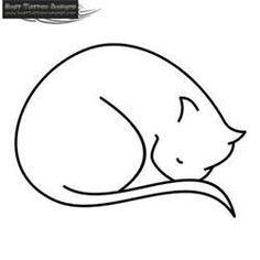 Cat Tattoo Picture #2873
