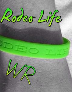 Green Rodeo Life Wristband