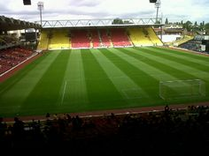 Home of the hornets, Watford FC.