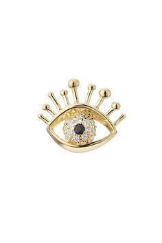 #xmas #Christmas #STYLEBOP.com (FR/NL/IT) - #Marc Jacobs Marc Jacobs Evil Eye Rhinestone Earring - AdoreWe.com