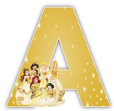 Disney Princesses Alphabet  Numbers