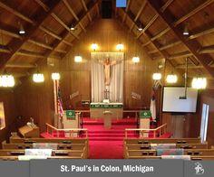 St. Paul's Lutheran Church in Colon, Michigan http://www.splc2.com/ #LCMS #miLCMS