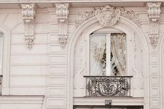 Paris Photograph Baroque Window Classic Black and by ParisPlus, $25.00