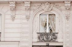 Fotografía de París, Ventana Barroco, Clásico Blanco y Negro Fotos, Neutral decoración casera, arte de la pared, Arquitectura francesa