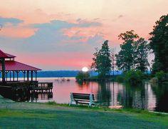 Breath Taking Toledo Bend Lake Country via Louisiana Travel Promtion Association (FB)