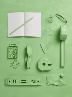 The objects of my profession: art gallery manager. Still life Stylist Sarah Akwisombe, photographer Dan Annett