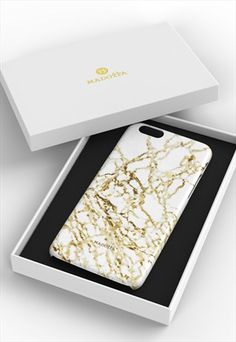 Golden Desert Marble Marble iPhone Case Madotta