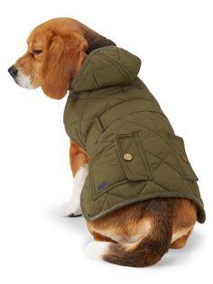 Quilted Hooded Dog Coat - Ralph Lauren Home For the Pet - RalphLauren.com - US$95