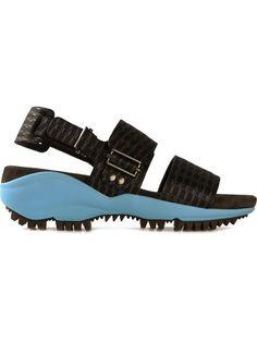 Lanvin Jacquard Sandals - Zoo Fashions - Farfetch.com