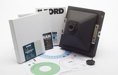 Ilford's Pinhole Kit / Did you know that Ilford came up with its own Pinhole Camera?