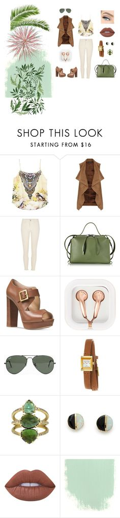 """""""SauvageChic"""" by joana25 on Polyvore featuring Dorothy Perkins, River Island, Jil Sander, Michael Kors, claire's, Ray-Ban, Gucci, Erica Weiner and Lime Crime"""