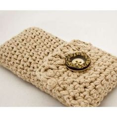 another cute crochet cell phone case