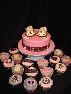 Girl BabyShower Cupcakes