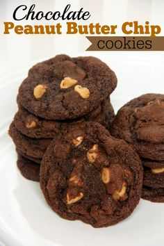 Chocolate Peanut Butter Chip Cookies - Food Contributor - Organize and ...