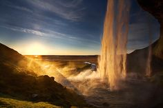 Seljalandsfoss, Iceland by Jón Óskar. #waterfall