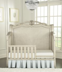 Kingsley Wessex Toddler Bed in Seashell #kingsley #crib #nursery