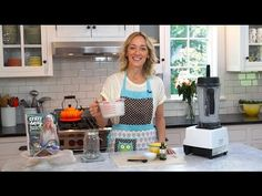 How to Make a Classic Almond Milk - Kris Carr - YouTube