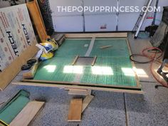We rebuilt the water damaged roof of our 1994 Rockwood pop up camper. Here is how we reconstructed the interior frame and ceiling. New Pop Up Campers, Pop Up Princess, Teardrop Camper Trailer, Roof Vents, Popup Camper, Plywood Sheets, Remodeled Campers, White Trim, Bricolage