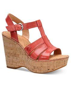 Born Shoes, Nicolina Platform Wedge Sandals - Shoe Trends - Shoes - Macy's
