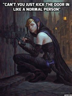 Your lock picking is taking FOREVER! - D&D shenanigans