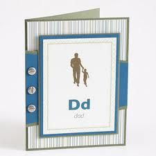 """Father's day card idea - I like this but have """"Dad"""" in bold dark letters and a definition you create below"""
