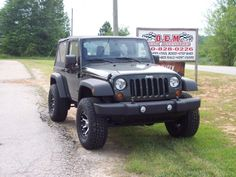 See what a difference we can make with your Jeep.  Check us out at OEM Truck Accessories in Lavonia GA - www.truckoem.com