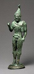 Statuette of an Archer, Etruscan, 510–490 B.C. Gift of Barbara and Lawrence Fleischman
