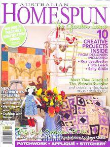 Homespun 87 - The Garden Issue - Jôarte arquivo - Picasa Web Albums
