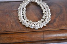 NEW Collection  Chunky  Bridal Freshwater Pearl and by kirevi8, $155.00