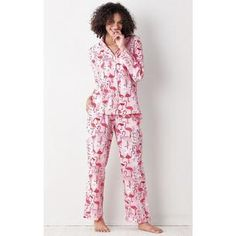 Printed Poplin Cotton Pajama Set – Flamingo Club