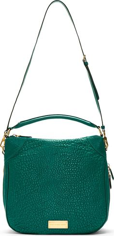 Marc by Marc Jacobs | Green Pebbled Leather Shoulder Bag