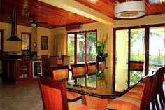 Costa Rica Beachfront - You will be sure to unwind in this relaxing beachfront home! Allow this tropical decor and soothing ocean sounds to let you slip into your own tropical paradise! Book today at GoodLifeRetreats.com
