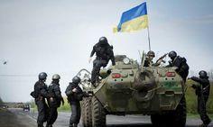 Антитеррористическая операция на Востоке Украины #Краматорск #Славянск pic.twitter.com/VFezM1kk8t23:15 - 15 трав. 2014
