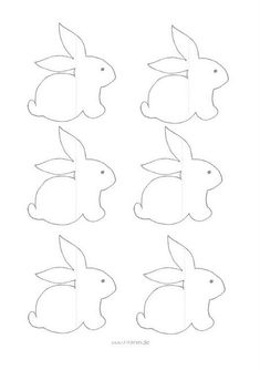 Laden Sie das kostenlose PDF herunter: Baby-Deco Acne Control: The Top Th Royal Icing Templates, Easter Templates, Bunny Templates, Bird Template, Felt Patterns, Applique Patterns, Felt Crafts, Easter Crafts, Happy Easter