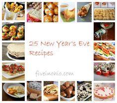 25 New Year's Eve Recipe
