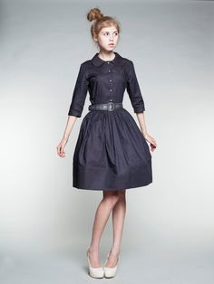 3d7f27c5601e Custom Made robe chemisier en coton par Mme par mrspomeranz sur Etsy,  £335.00 Jolies