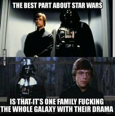 Keeping up with the Skywalkers *emo Kylo Ren approves*