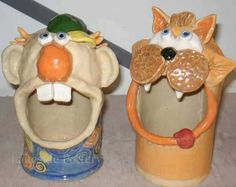 Clay Projects and Ideas For Children Ceramic Art Classes Clay Projects For Kids, Kids Clay, Art Projects, Slab Pottery, Pottery Art, Pottery Ideas, Wheel Thrown Pottery, Pottery Classes, Ceramics Projects