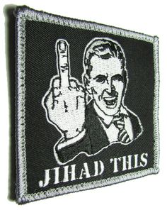 Jihad This Middle Finger Isis Terrorist USA Military US Swat Velcro Morale Patch | eBay