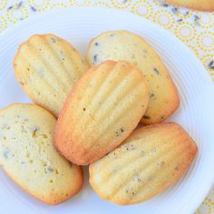 Heb jij ooit al eens willen bakken met lavendel? Ik heb dan een heerlijk recept voor je: lavendel citroen madeleines! Heerlijk voor bij de thee.